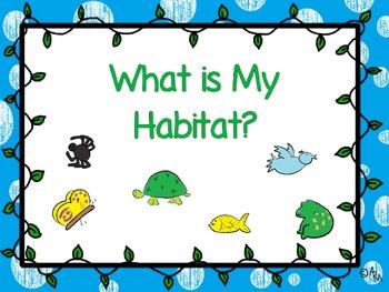 What is My Habitat?