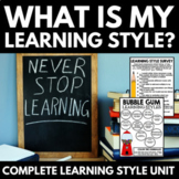 Learning Style Inventory | Back to School | Multiple Intel