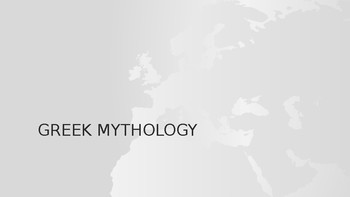 What is Mythology (into to Greek mythology)