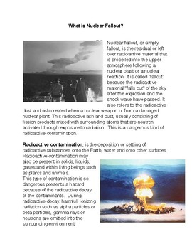 What is Nuclear Fallout?