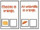 """What is Orange?"" An Adapted Speech Therapy Book About Colors"