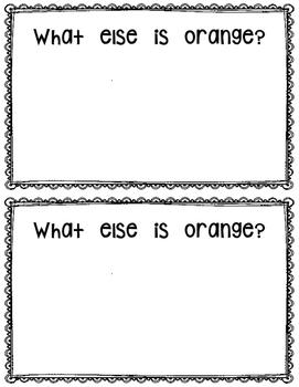 What is Orange?  reader