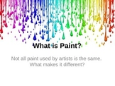 What is Paint? Reading and Response Activity