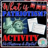 What is Patriotism  2020 Vote Activity