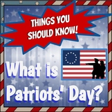 What is Patriots' Day?  An April Holiday Remembering the R