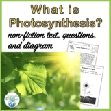 Photosynthesis Nonfiction Text and More