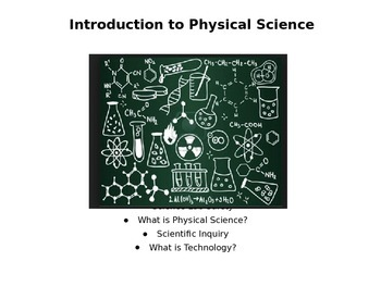 What is Physical Science PowerPoint