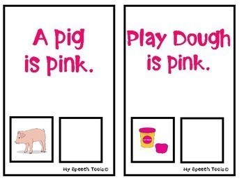 What is Pink? An Adapted Interactive Book for Emergent Readers