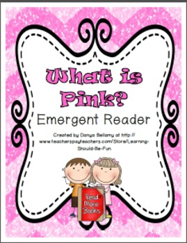 What is Pink? Emergent Reader