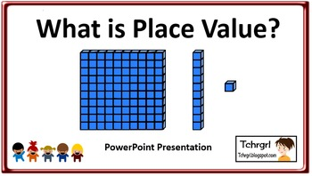 What is Place Value?  PowerPoint: An Introduction to Why W