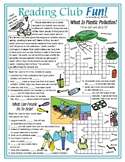 What is Plastic Pollution? (Earth Day) Crossword Puzzles