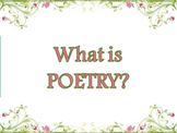 What is Poetry? Mini-Unit