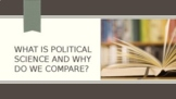 What is Political Science? Full Lesson Bundle