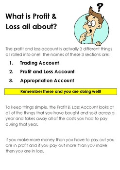 What is Profit and Loss All About?