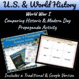 What is Propaganda? Comparing Historic & Modern Day Propaganda Activity