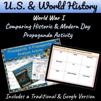 What is Propaganda?: A Propaganda Student Activity using P