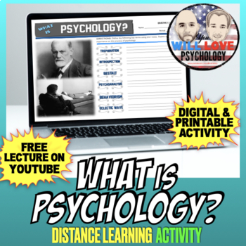 What is Psychology?: Introduction to Psychology Activity