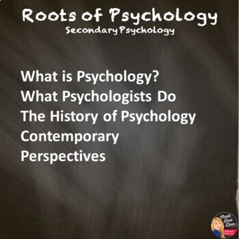What is Psychology? Unit Test and Review Game