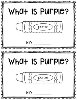 What is Purple?  reader