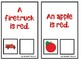 What is Red? An Adapted Speech Therapy Book About Colors