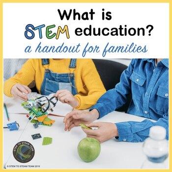 What is STEM?  A Parent Handout