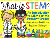 What is STEM? (An Introduction to STEM with Signs, Booklet