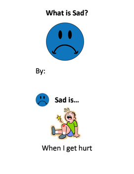 What is Sad? Learning Emotions Emergent Reader