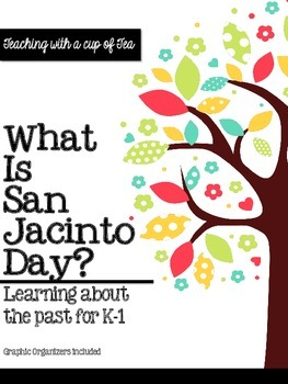 What is San Jacinto Day? A (printable) Read Aloud Book & A