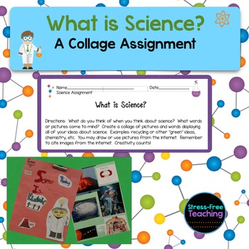 What is Science?  A Collage Assignment
