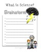 What is Science? Brainstorming and Vocabulary Worksheet