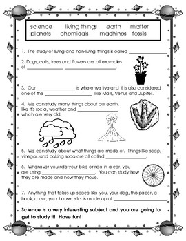 What is Science?  (for Early Elementary)