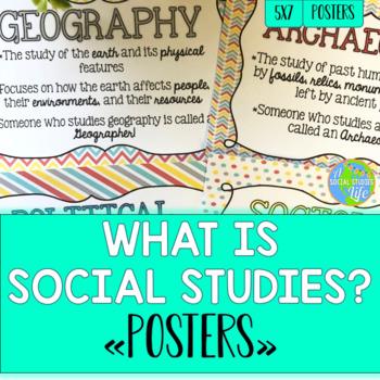 Social Studies Posters