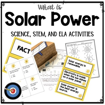 What is Solar Power? Close Read and Opinion Letter Writing