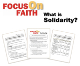 What is Solidarity?  Religion & Media Literacy Assignment