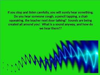 What is Sound?  (A PowerPoint Resource)