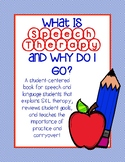 """""""What is Speech Therapy?"""" First Day of Speech Activity"""