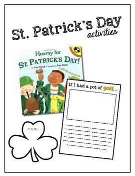 {1st Grade} What is St. Patrick's Day? - Writing Prompt and Craft