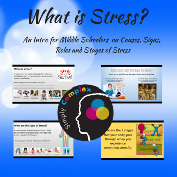 What is Stress? An Introduction to Stress for Middle Schoolers