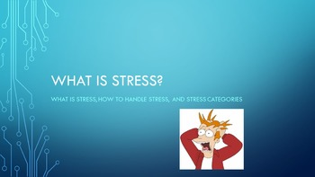 What is Stress? Power Point Student Assignments Teacher Di