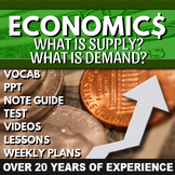 What is Supply? & What is Demand? Chapter 4 and 5