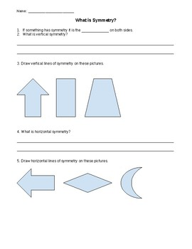 What is Symmetry - Notes