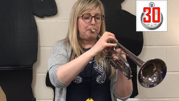 What is TIMBRE? Music Minute by Ms. H - Worksheet and YouTube Vid for Elementary