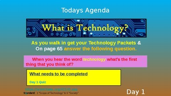 (Day 1) What is Technology