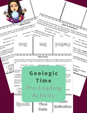 What is Time? A Geologic Time Pre-Loading Activity