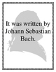 What is Up with the Teacher? (Bach Edition)