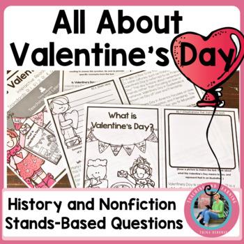 Valentine's Day Reader: An Informational Text Interactive Reader