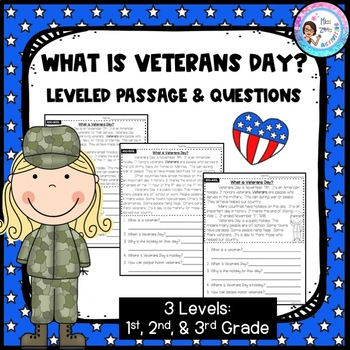 What is Veterans Day? Leveled Passage & Questions