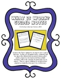 What is WORK? Guided Notes
