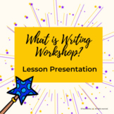 What is Writing Workshop Lesson Presentation with worksheet notes