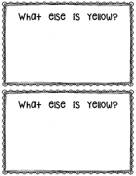 What is Yellow? reader